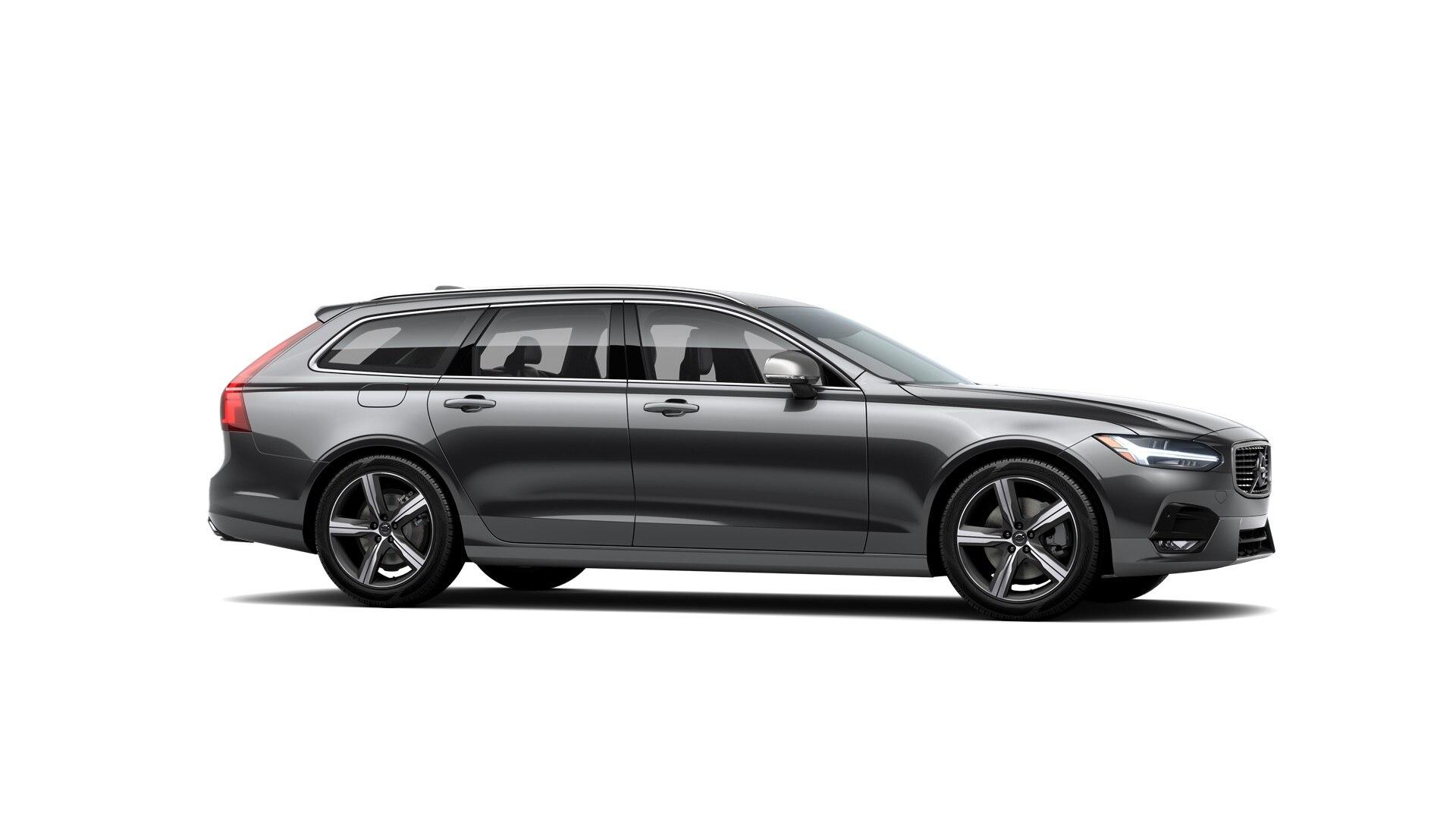 Volvo V90 2019 Gris foncé métallisé