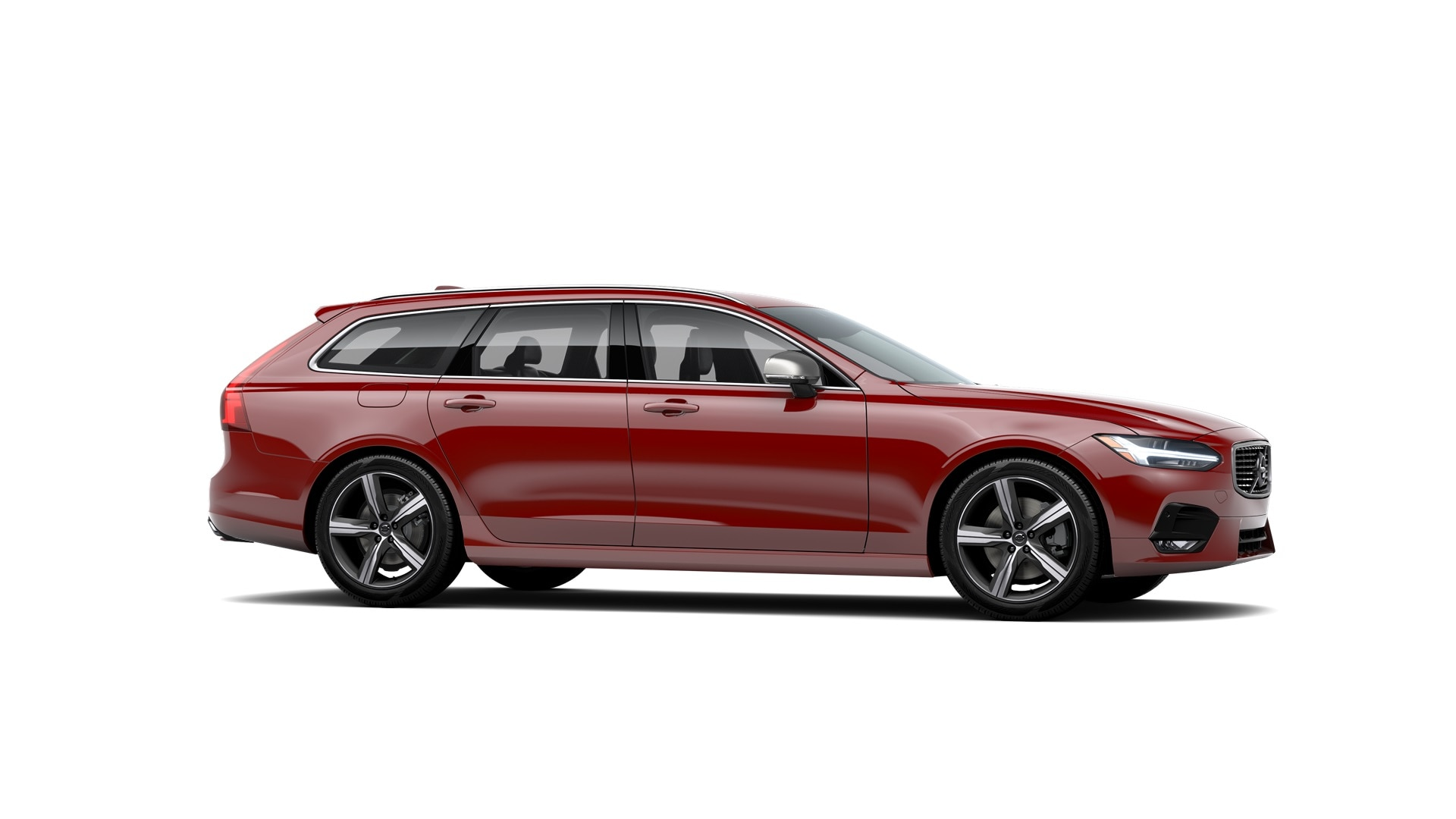 Volvo V90 2019 Rouge passion