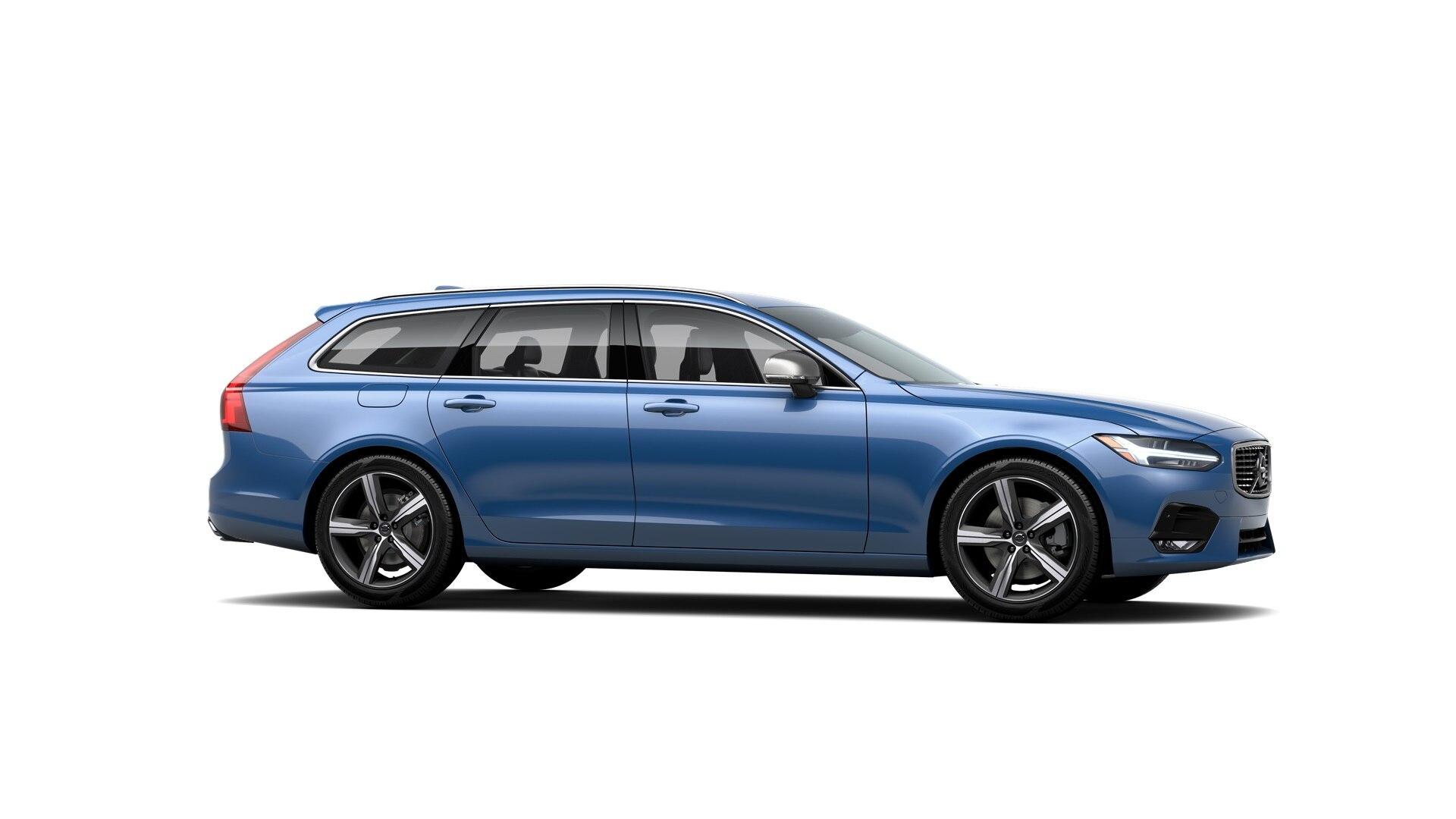 Volvo V90 2019 Bleu éclatant métallisé