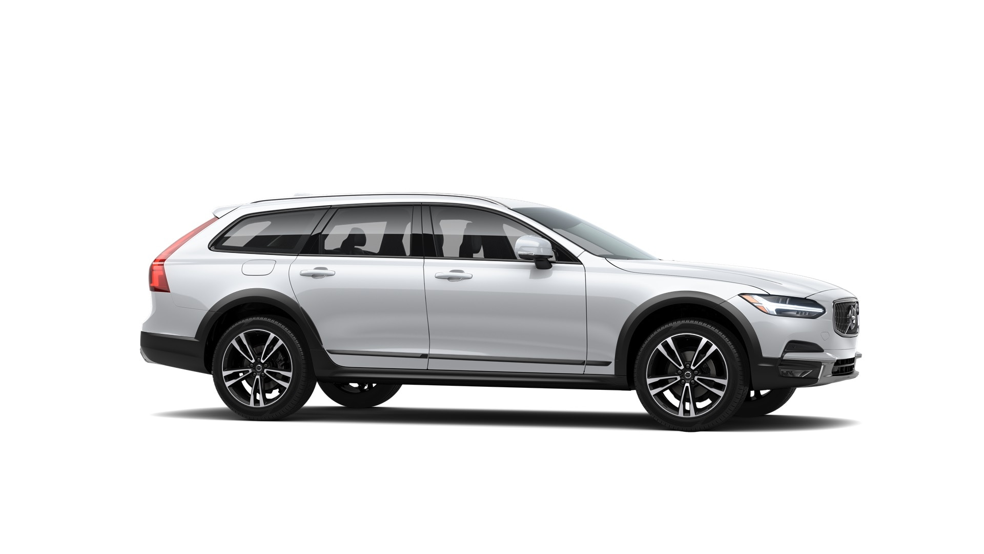 Volvo V90 Cross Country 2019 Blanc glacier