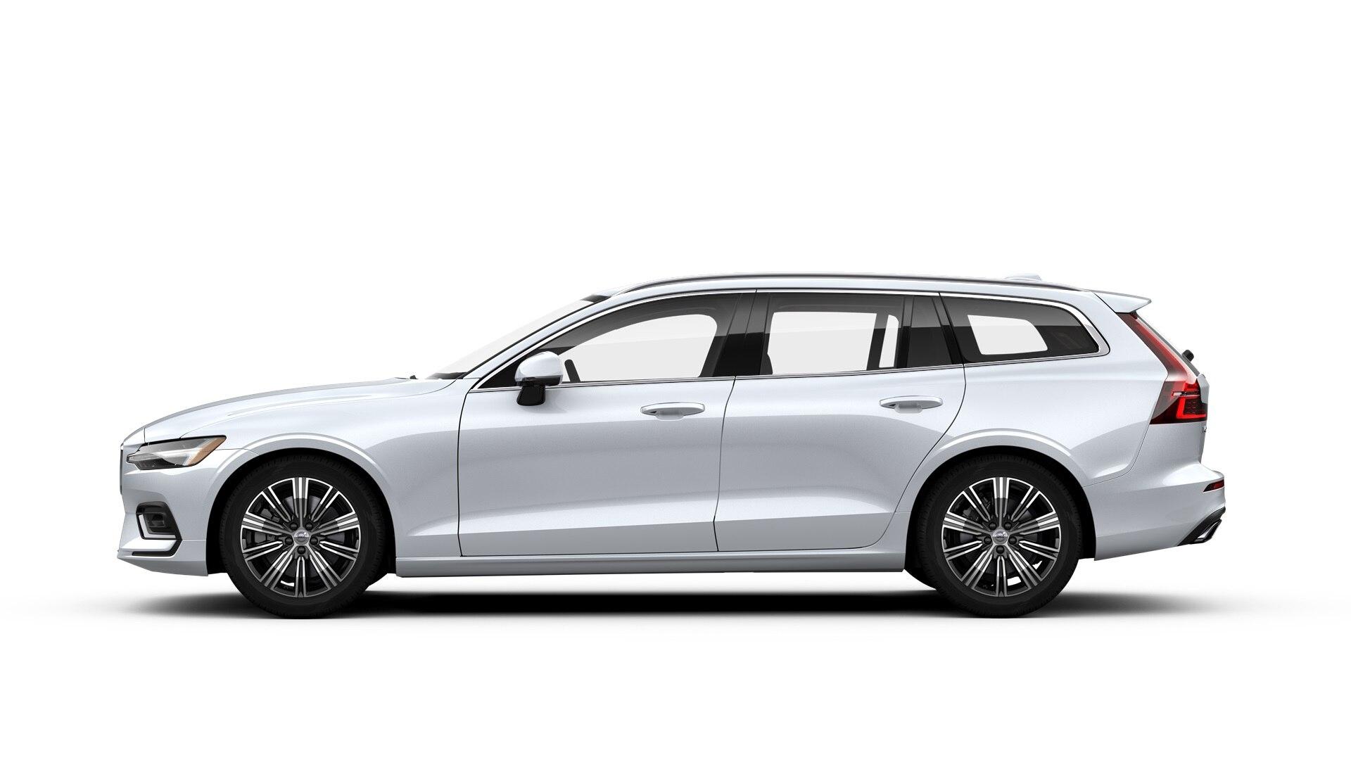 Volvo V60 2019 Blanc cristal nacré métallisé