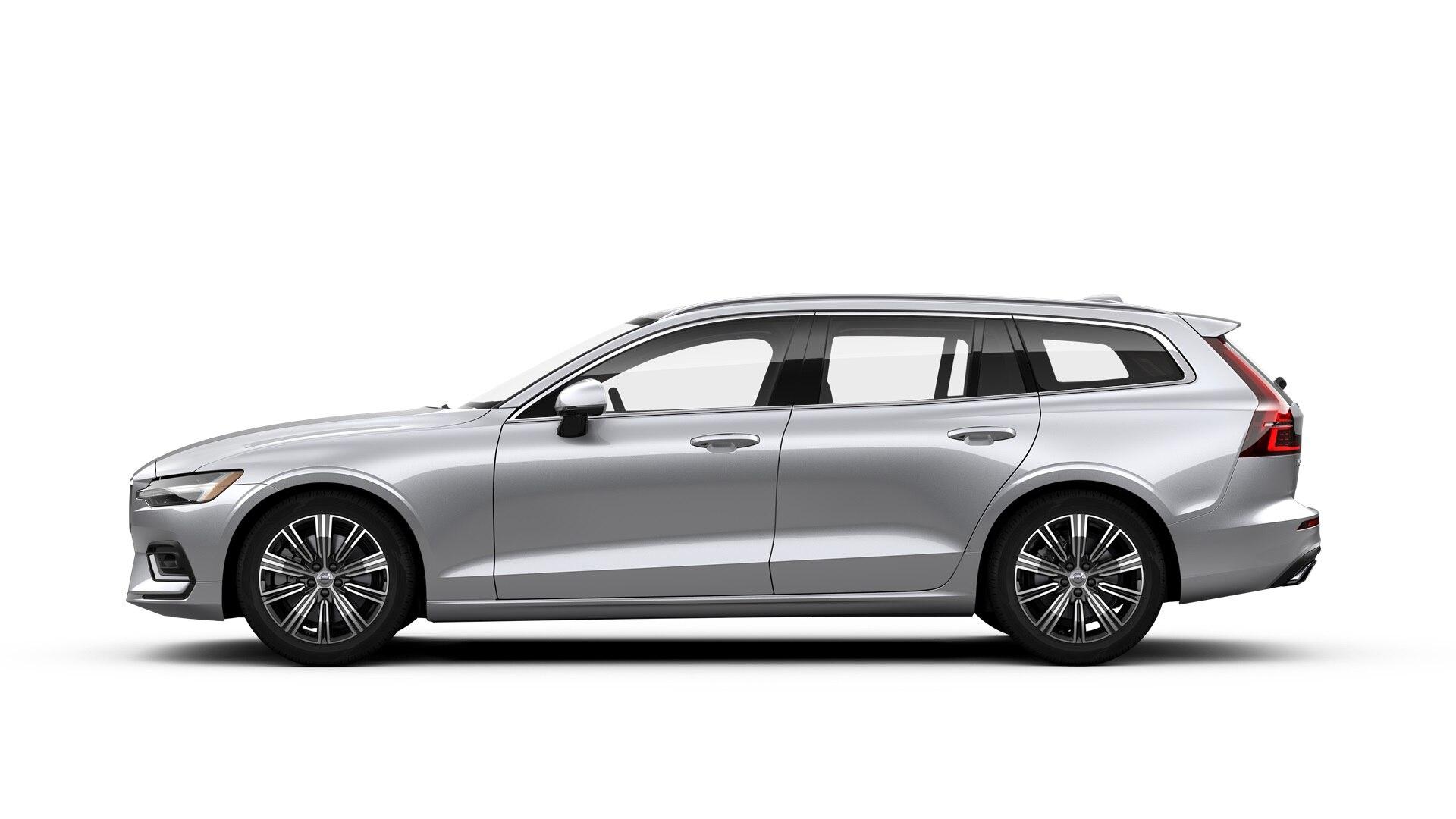 Volvo V60 2019 Argent brillant métallisé