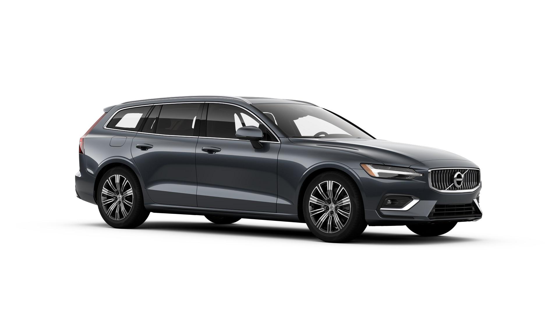 Volvo V60 2019 Bleu denim métallisé