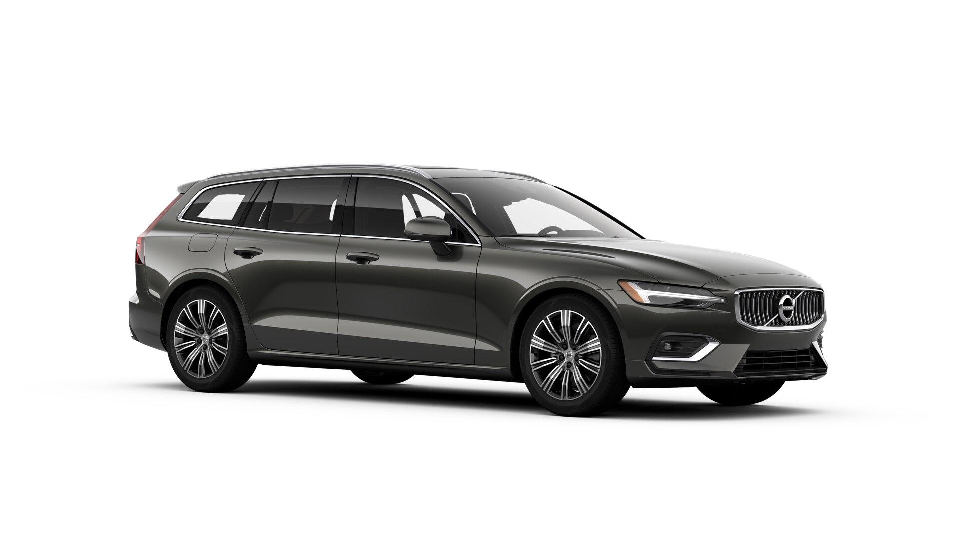 Volvo V60 2019 Pin gris métallisé