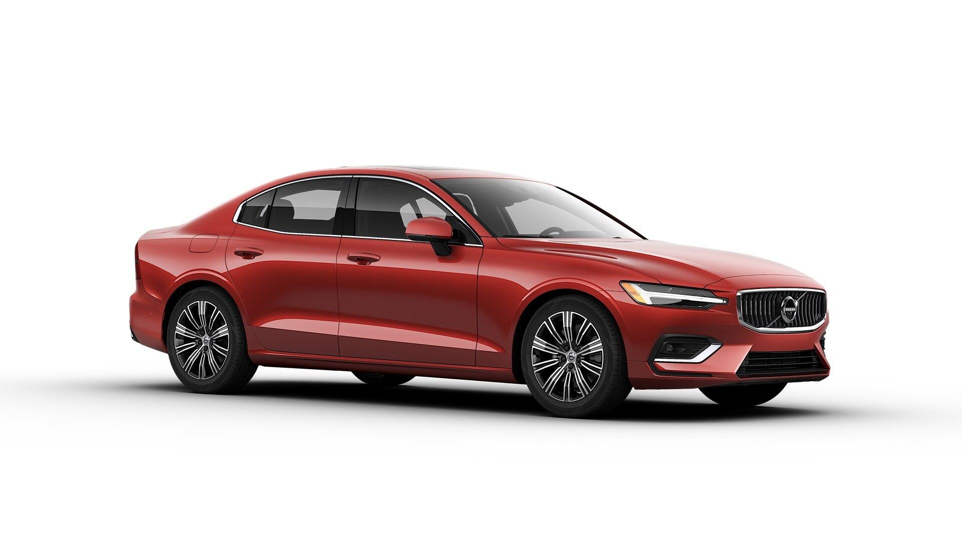 Volvo S60 2019 Rouge fusion métallisé