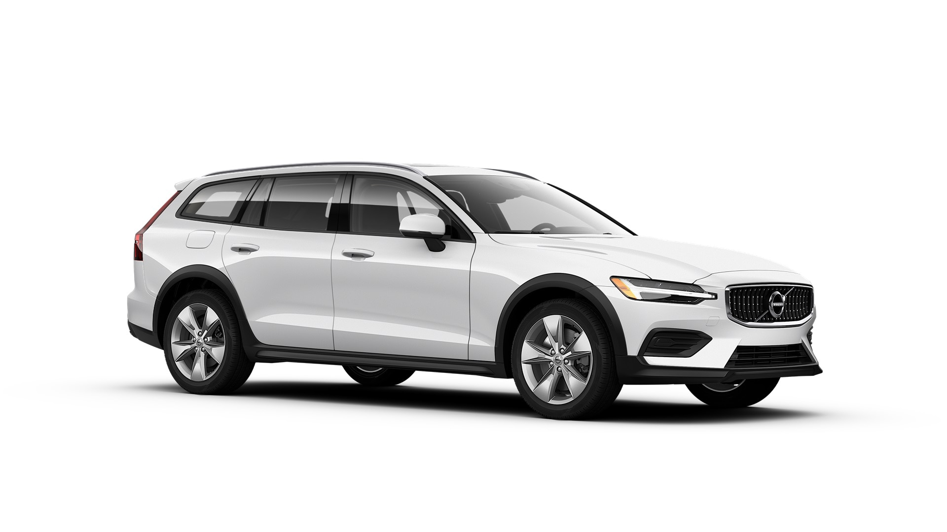 Volvo V60 Cross Country 2019 Blanc glacier