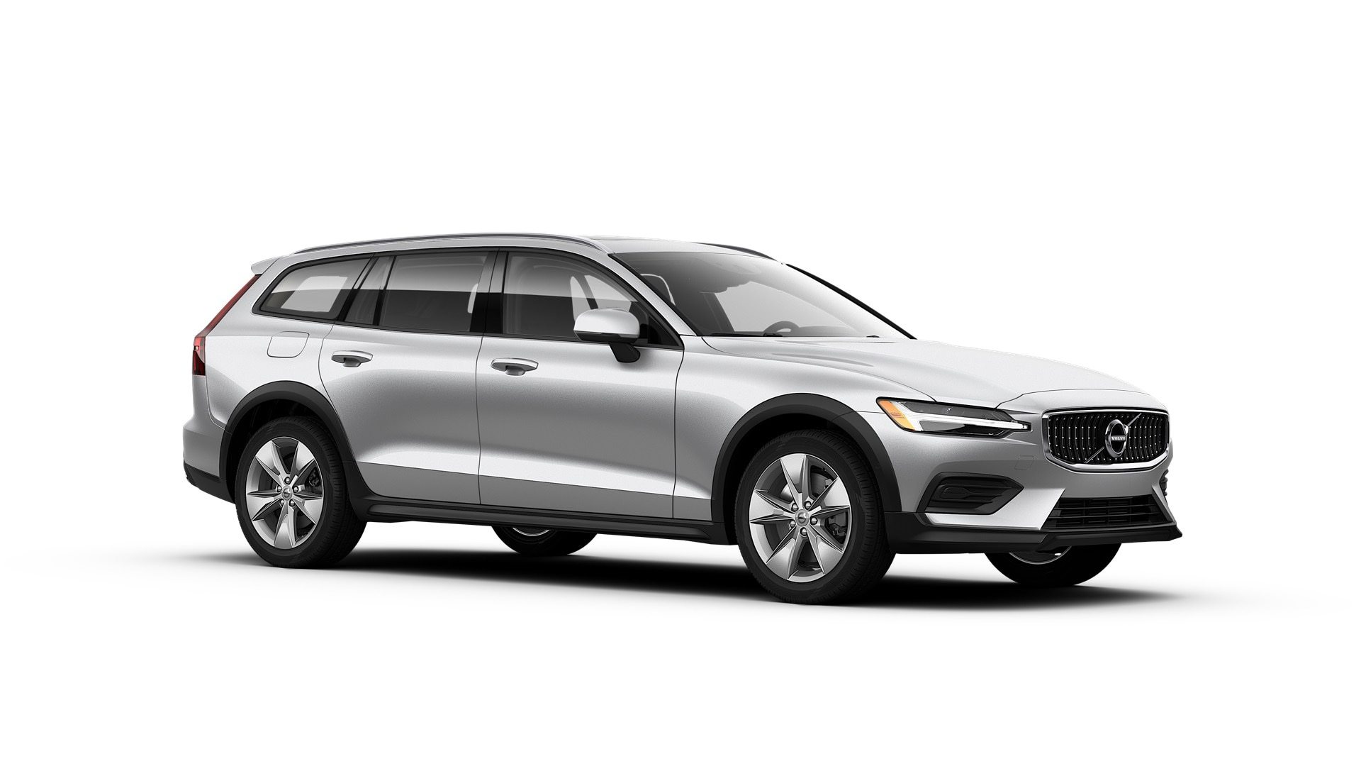 Volvo V60 Cross Country 2019 Argent brillant métallisé