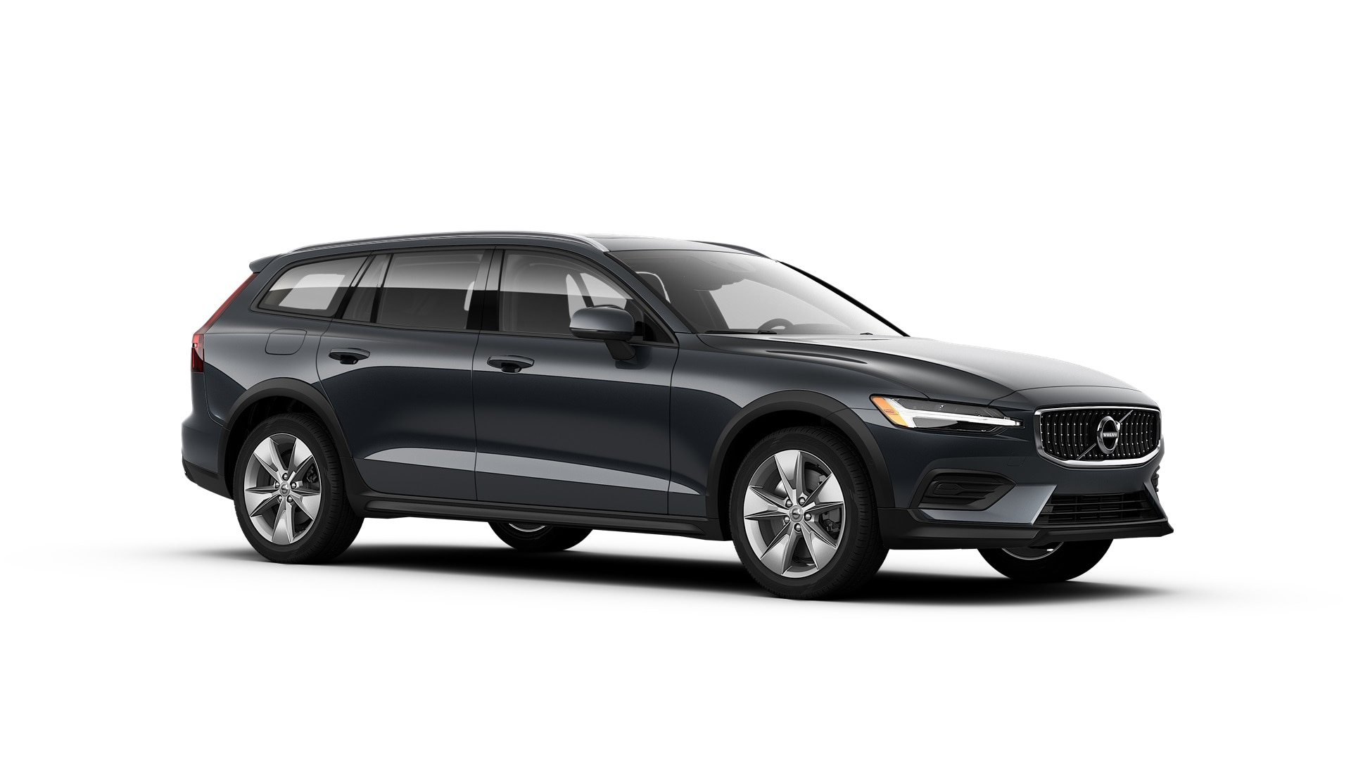 Volvo V60 Cross Country 2019 Bleu denim métallisé